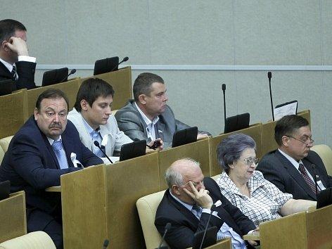 Ruští poslanci. Ilustrační foto