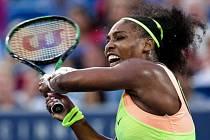 Serena Williamsová na turnaji v Cincinnati.