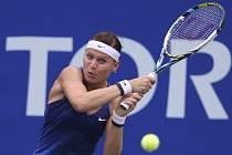 Lucie Šafářová na turnaji v Tokiu.