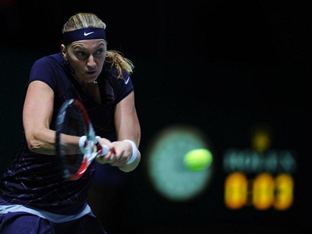 Petra Kvitová neodehrála Turnaj mistryň ve stoprocentní zdravotní kondici.