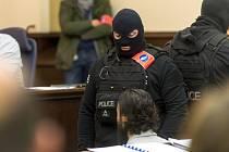 Salah Abdeslam u belgického soudu