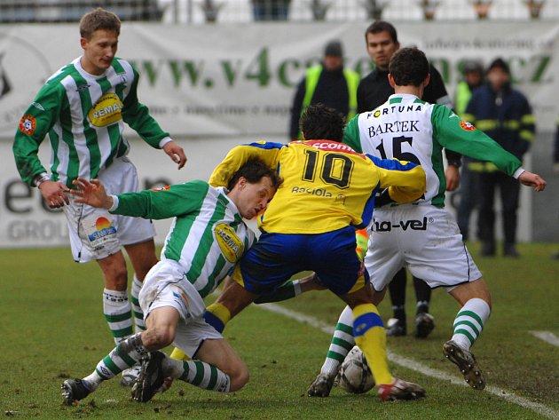Pokud se chtějí Bohemians 1905 v lize zachránit, musí doma vítězit. A ne rozdávat body jako v zápase se Zlínem.