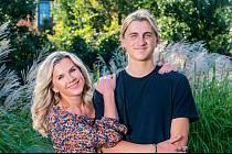 Leona Machálková má se synem Arturem, který před nedávnem oslavil osmnáctiny, skvělý vztah.