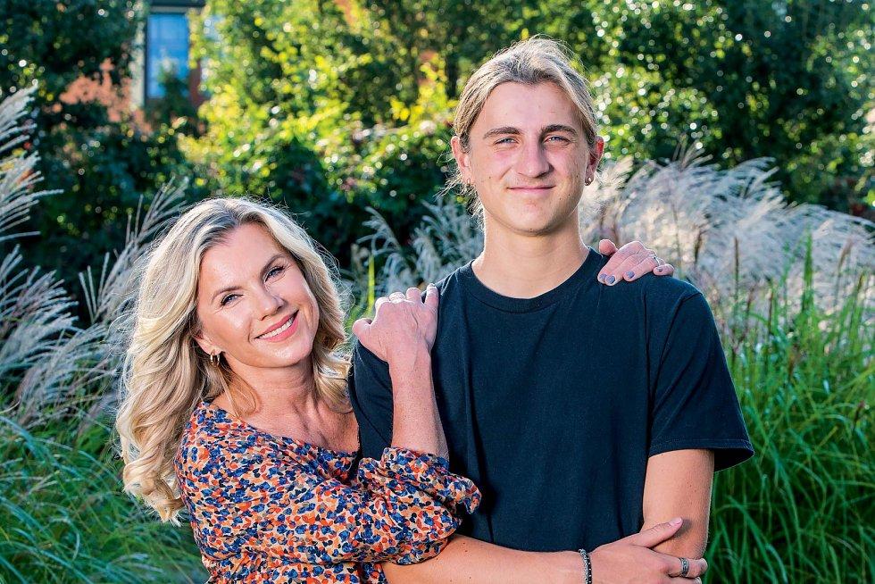 Se synem Arturem, který před nedávnem oslavil osmnáctiny, mají skvělý vztah.