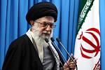 Íránský nejvyšší duchovní ajatolláh Alí Chameneí.