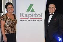 Žena regionu 2012 Václava Domšová a Jiří Klaban.