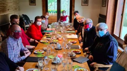 Setkání prezidenta Miloše Zemana a jeho expertního týmu v Lánech
