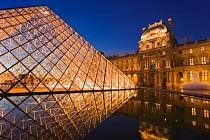 Musee du Louvre, Paříž, Francie.