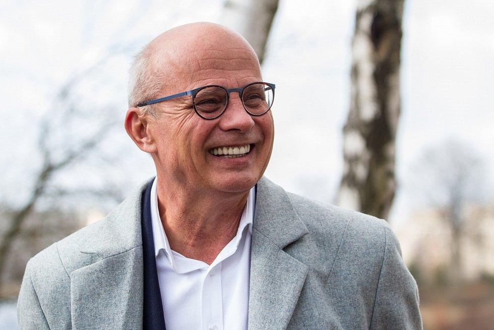 Kandidát na funkci prezidenta Michal Horáček navštívil 15. března 2017 Jablonec nad Nisou.