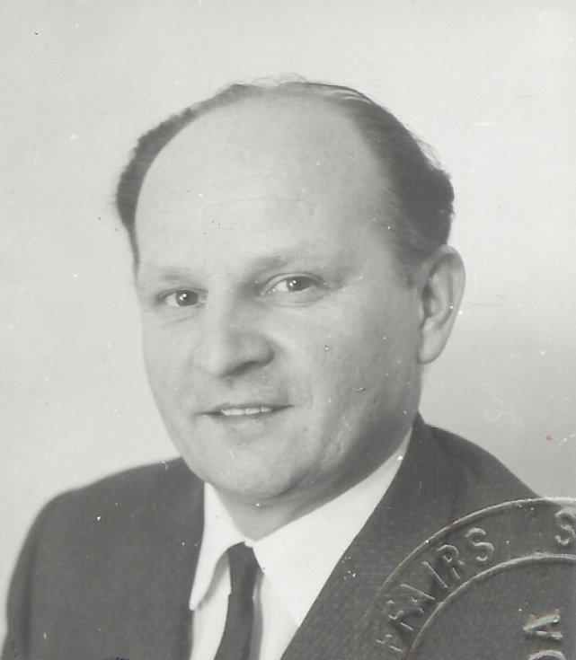 Milo Komínek v roce 1968
