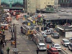 Železniční neštěstí ve městě Hoboken.