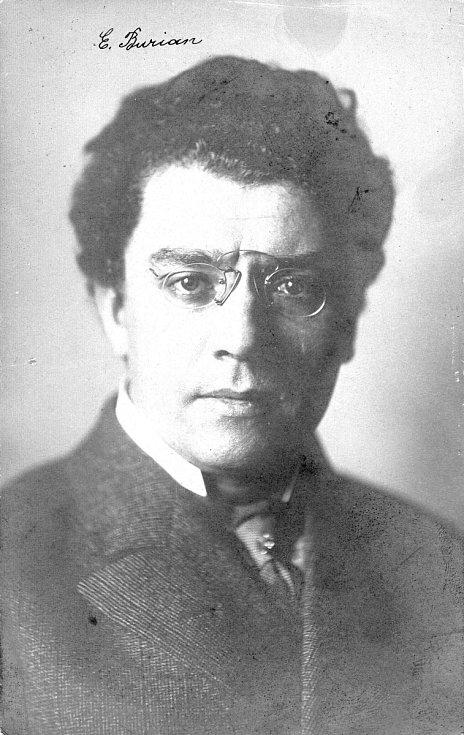 Emil Burian, otec E. F. Buriana