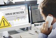 Počítačový virus - Ilustrační foto