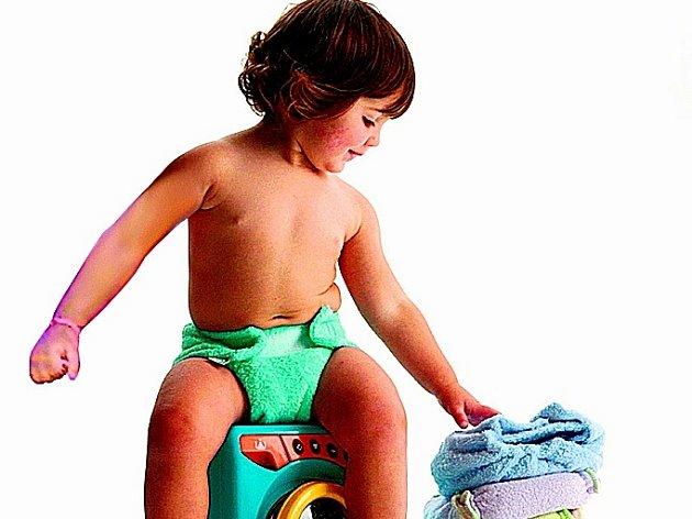Dítě za dva roky spotřebuje asi 4000 papírových plen.