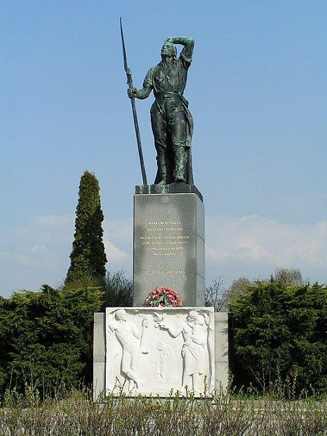 Památník selského povstání uChlumce nad Cidlinou zroku 1775.