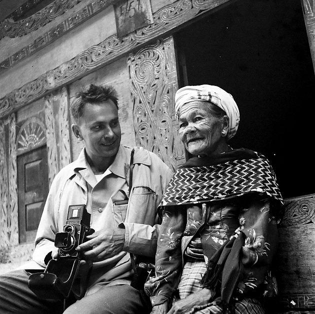 Na ostrově Samosir na Sumatře vroce 1962.