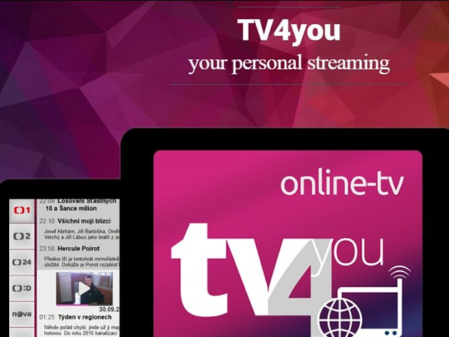 Webová stránka TV4YOU.