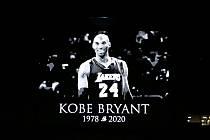 Připomínka tragicky zesnulého slavného basketbalistu Kobe Bryanta.