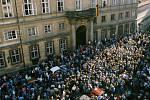 Velvyslanectví v Praze 3. října 1989