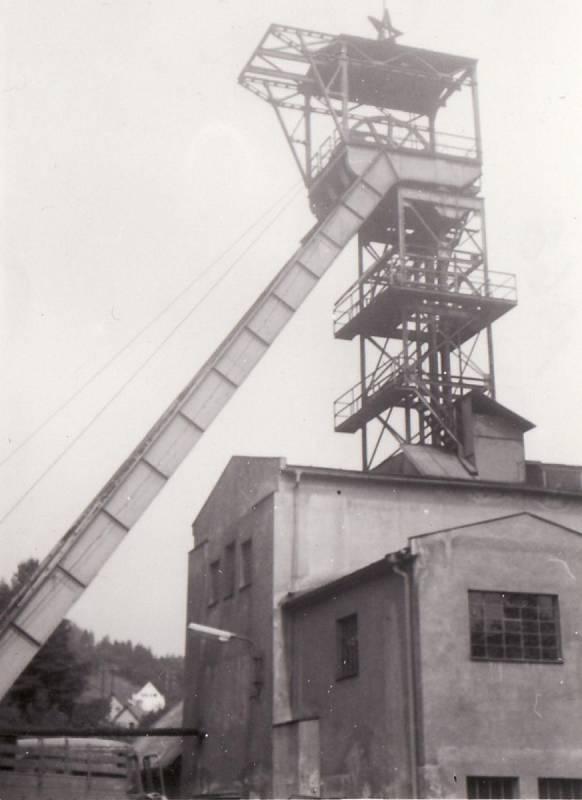 Jáchymov, důl Svornost (1968)