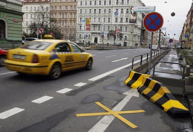 Pražská Legerova ulice - magistrála