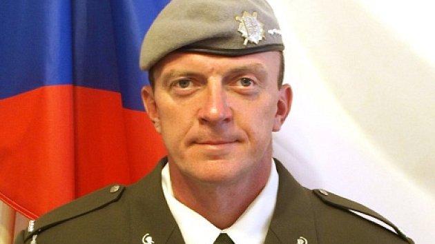 Voják Tomáš Procházka, který zemřel při misi v Afghánistánu.