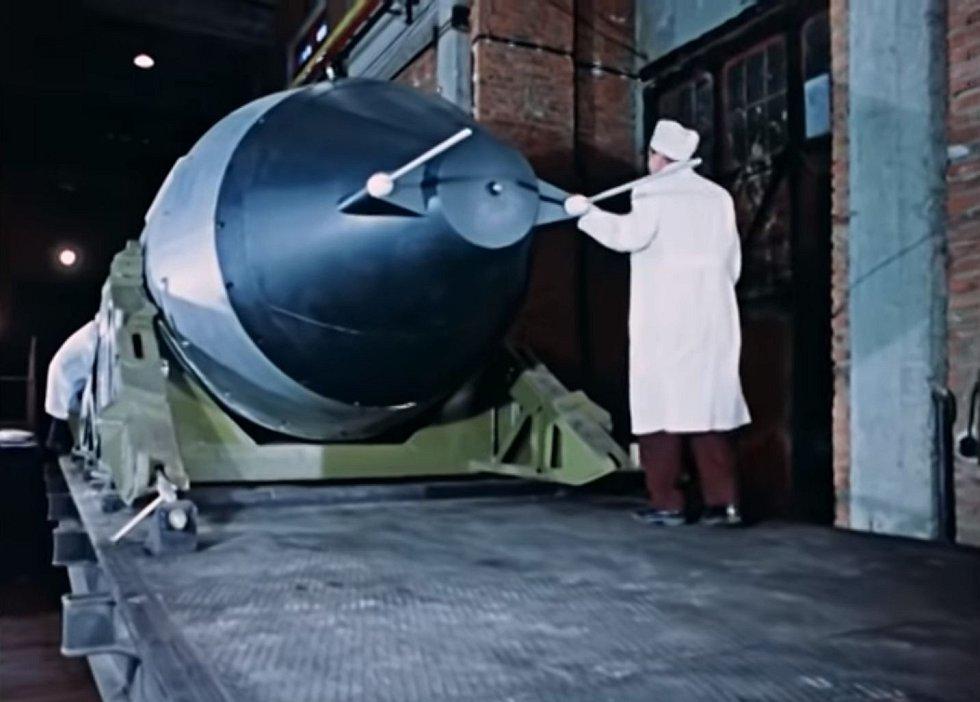 V roce 1961 provedl Sovětský svaz test největší jaderné zbraně, jaká kdy byla vyrobena