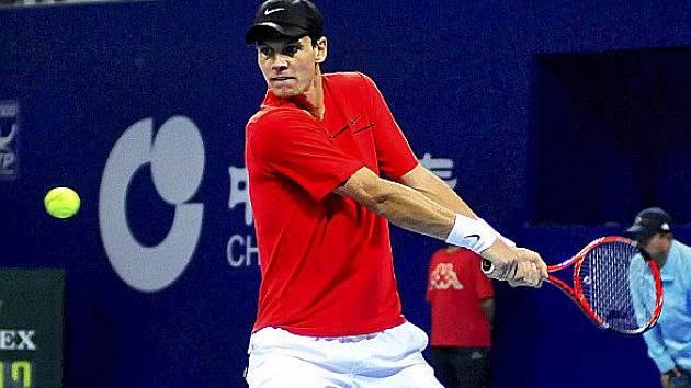 Český tenista Tomáš Berdych vyhrál turnaj v Pekingu.