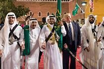 Donald Trump na turné po Blízkém východě