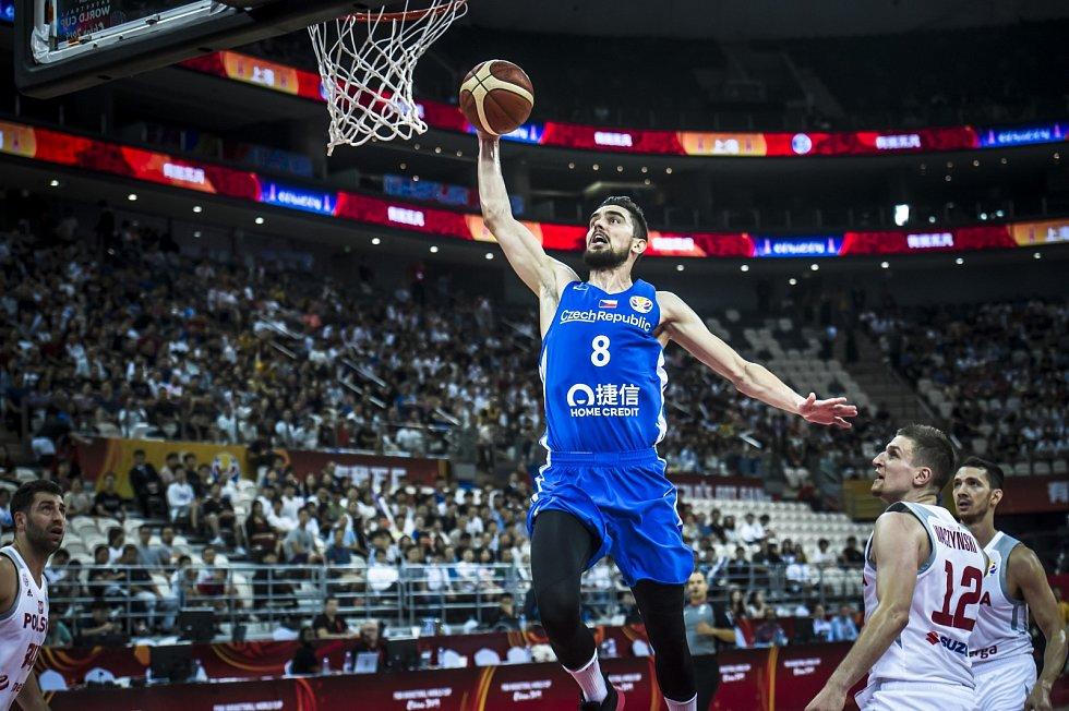 Utkání basketbalového mistrovství světa - Česko vs. Polsko