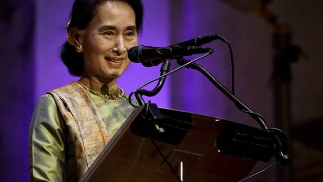 Nositelka Nobelovy ceny míru Su Ťij