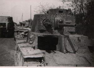 Německá těžká technika na Zbraslavi