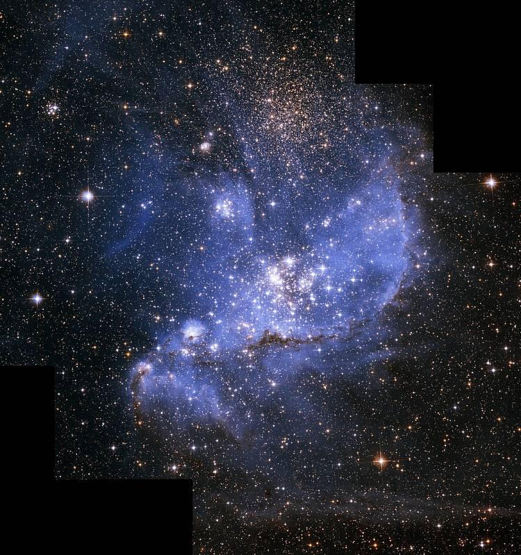 Galaxie zachycená Hubbleovým teleskopem