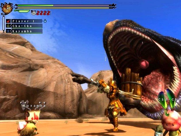 Počítačová hra Monster Hunter 3 Ultimate.