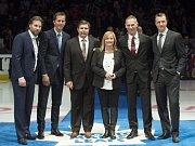 Dominik Hašek byl uveden do Síně slávy v Torontu