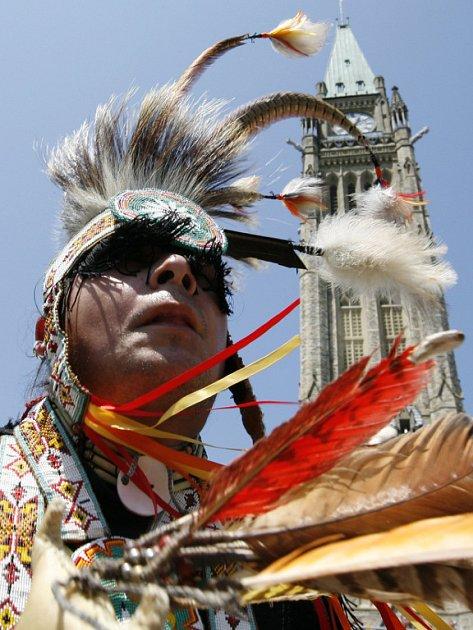 Indián Alden Pompana je jedním z těch, kteří upozorňují na neutěšený stav kanadských indiánských kmenů.