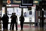 Na nádraží v Kolíně nad Rýnem zasahovala policie