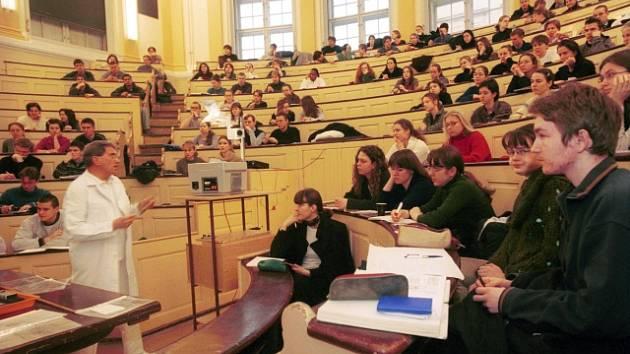 Lékařská fakulta Univerzity Karlovy v Praze. Ilustrační foto.