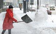 Moskvu ochromila sněhová bouře