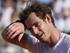Andy Murray v souboji s Novakem Djokovičem
