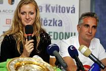 Jozef Ivanko byl u prvního triumfu Petry Kvitové ve Wimbledonu v roce 2011.