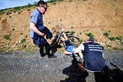 Cyklista Michael Goolaerts