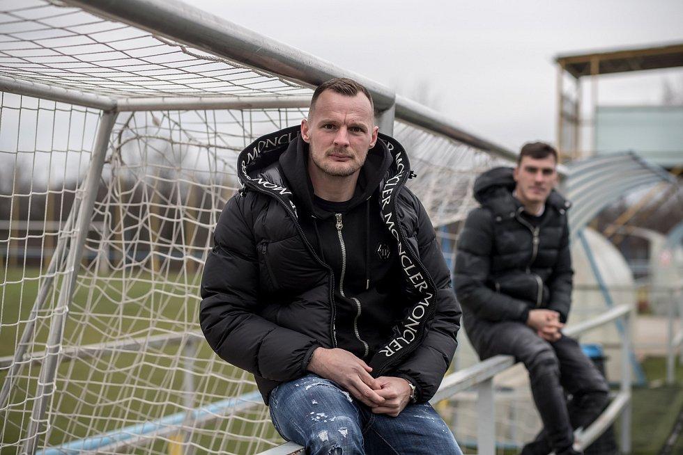 Jakub Řezníček (vlevo) a Martin Jedlička.