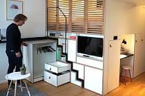 Provozovatel Zoku Hans Meyer představuje nejmenší apartmán v komplexu