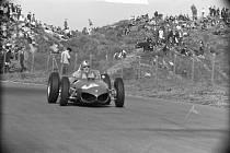 Závodní vůz Wolfganga von Tripse na nizozemské Grand Prix 1961