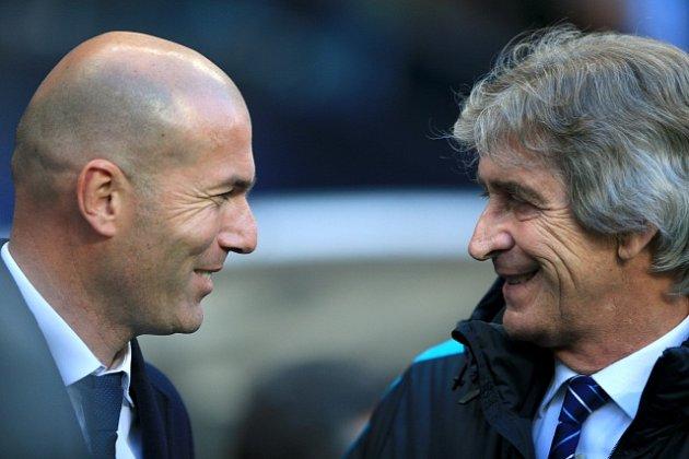 Zinedine Zidane a Manuel Pellegrini