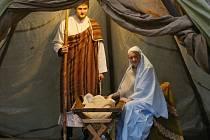Živý betlém v Litoměřicích znázornil narození Ježíše Krista. Ilustrační foto.