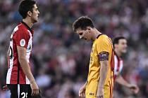 Barcelona prohrála, Lionel Messi musel vytrpět debakl