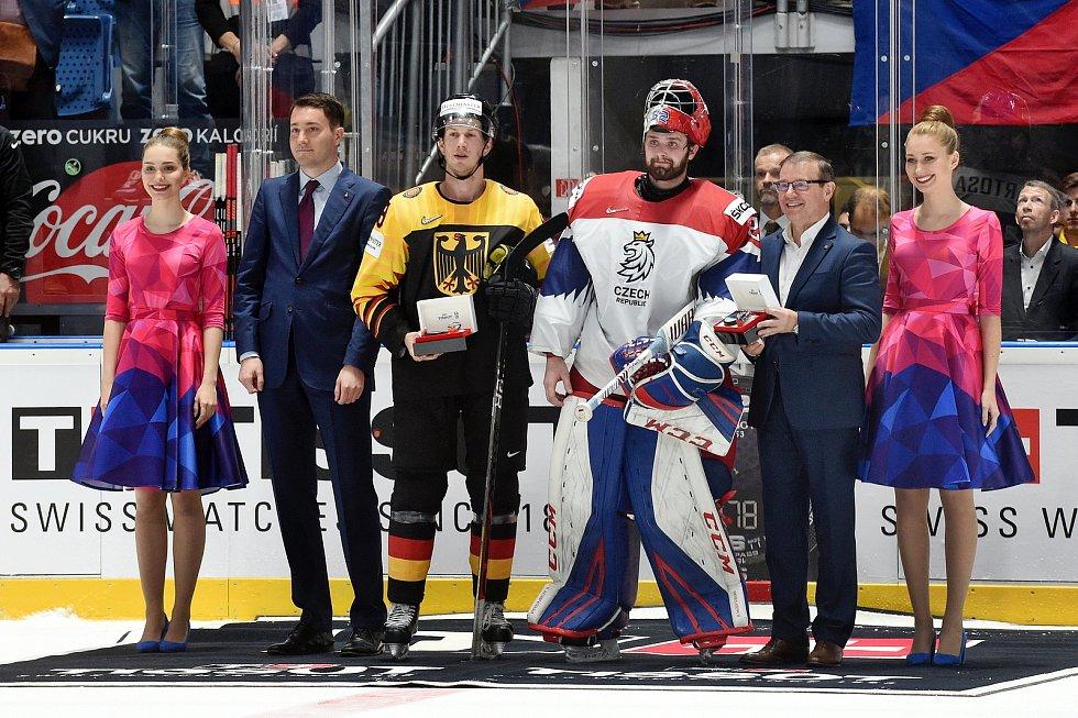 Bratislava 23.5.2019 - Mistrovství světa v Bratislavě - čtvrtfinále Česko Německo