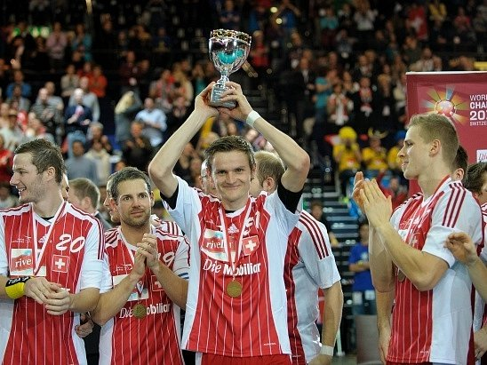 Florbalisté Švýcarska získali na domácím mistrovství světa v Curychu bronz.